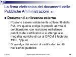 la firma elettronica dei documenti delle pubbliche amministrazioni 3 4