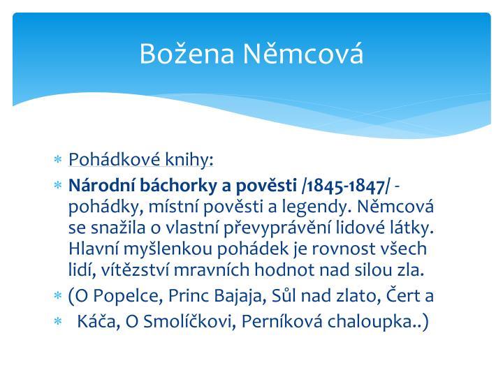 Božena Němcová