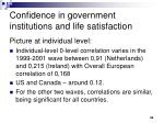 confidence in government institutions and life satisfaction2