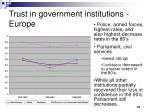 trust in government institutions europe1