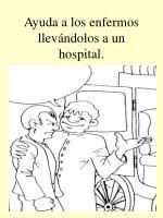 ayuda a los enfermos llev ndolos a un hospital