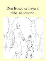 don bosco se lleva al ni o al oratorio