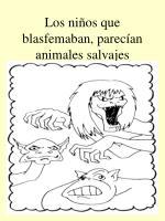 los ni os que blasfemaban parec an animales salvajes