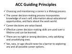 acc guiding principles