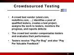 crowdsourced testing1