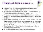 hysterick tempo inovac