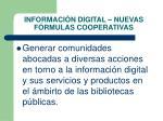 informaci n digital nuevas f rmulas cooperativas