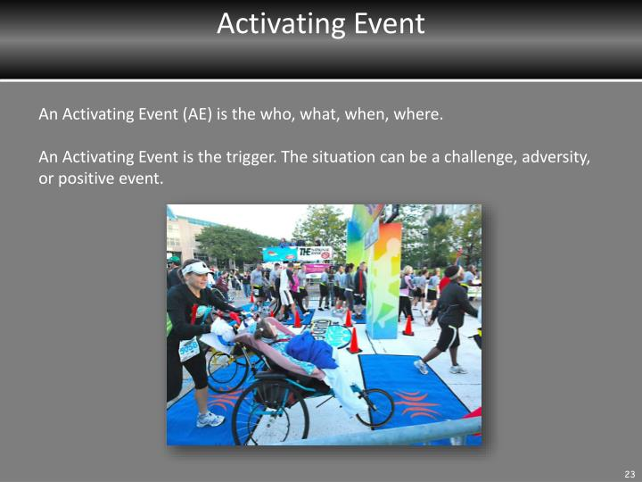 Activating Event