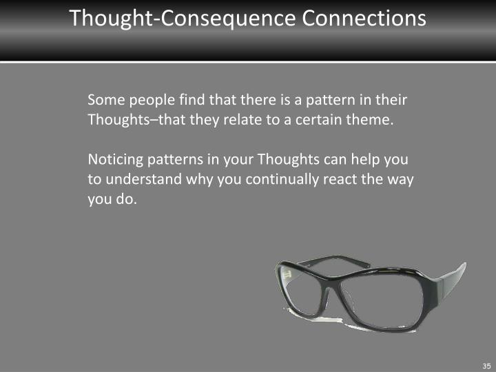 Thought-Consequence Connections