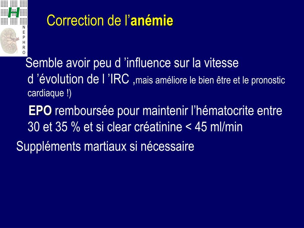 PPT - Gestion optimale du patient Insuffisant Rénal ...