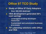 office 97 tco study