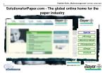 solutionsforpaper com the global online home for the paper industry