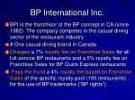 bp international inc
