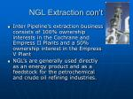 ngl extraction con t