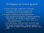strategies for future growth