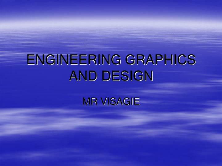 engineering graphics and design n.