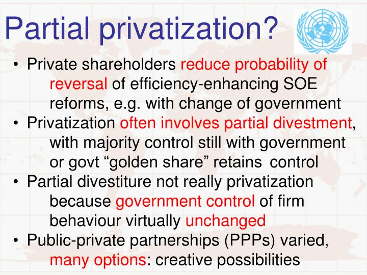 the implications of privatization of state owned Privatization and renationalization in malaysia: a  growth and privatization of state-owned  implications of the under-pricing of privatized soe.
