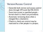 version access control37