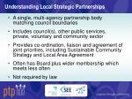 understanding local strategic partnerships