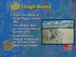 lough bunny