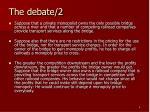 the debate 2