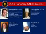 2011 honorary aac inductees1