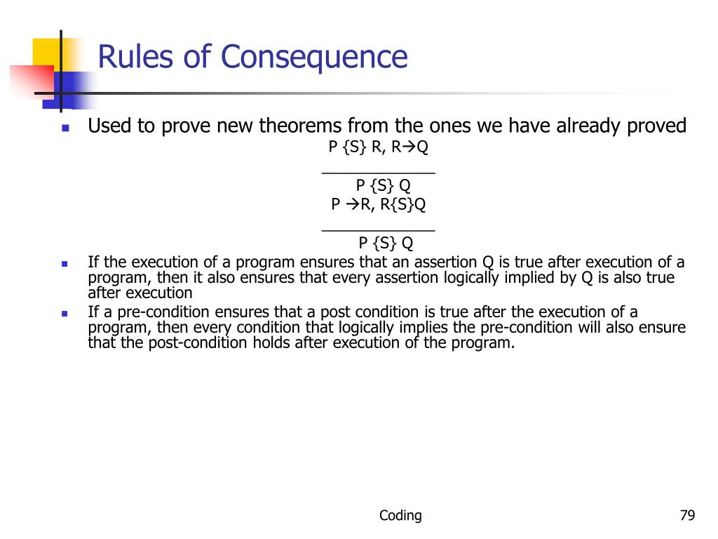 Rules of Consequence