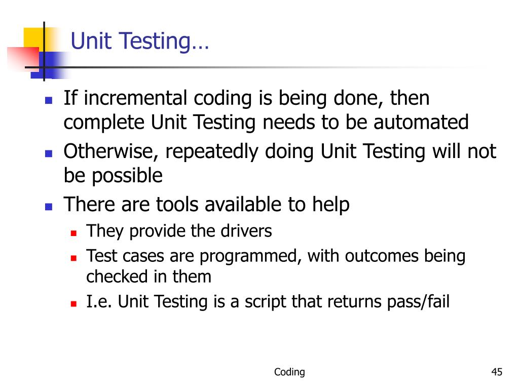 Unit Testing…