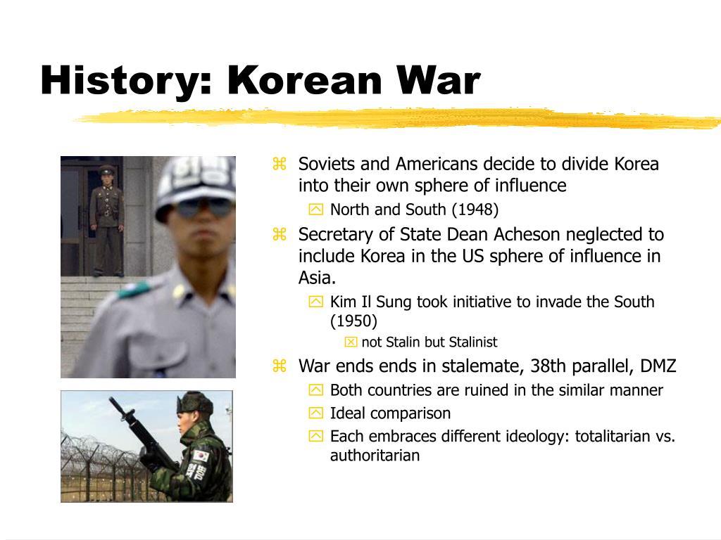 History: Korean War