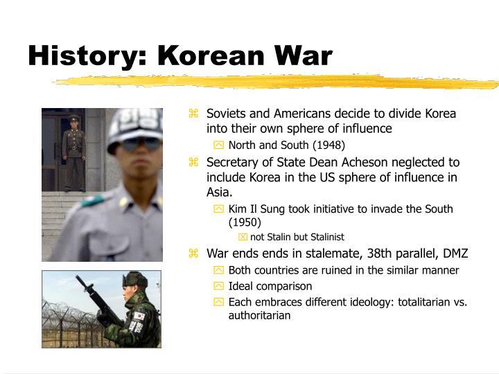 History korean war
