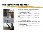 history korean war
