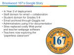 brookwood 167 s google story