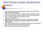 north korea s nuclear development continue18