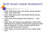 north korea s nuclear development