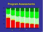 program assessments1