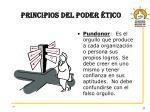 principios del poder tico1