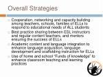 overall strategies