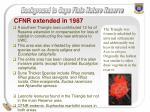 cfnr extended in 1987