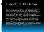 biography of john lennon11