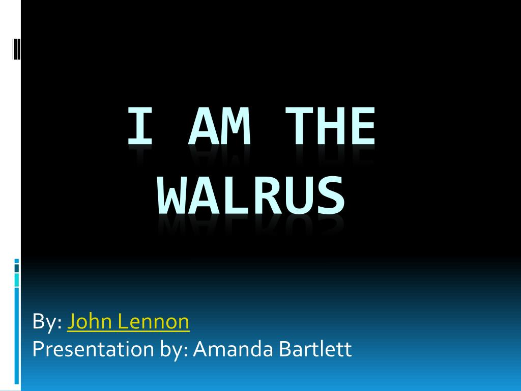 by john lennon presentation by amanda bartlett l.