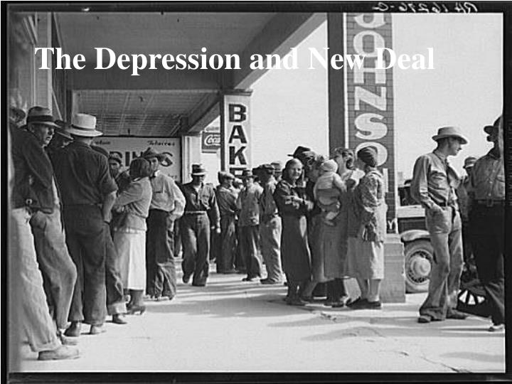 the depression and new deal n.