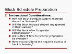 block schedule preparation1