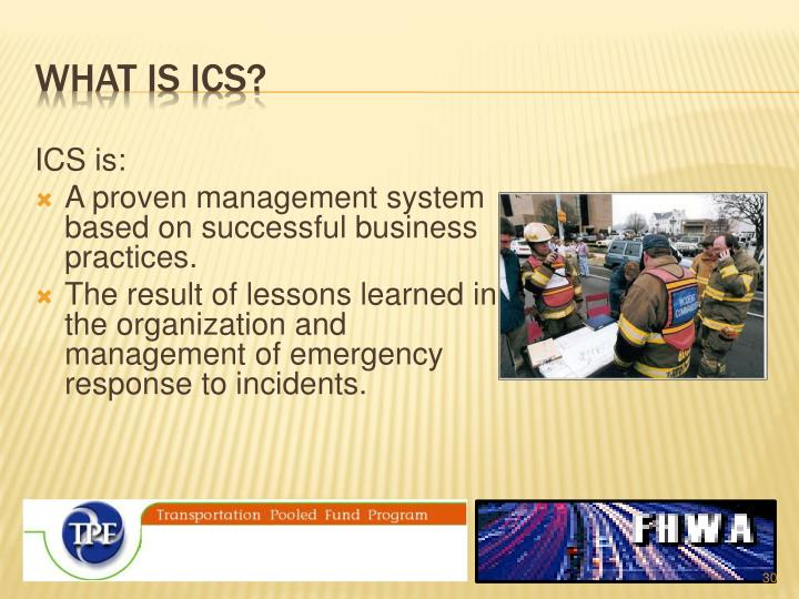 What is ICS?