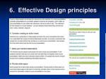 6 effective design principles6