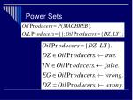power sets1