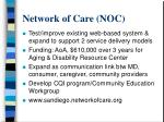 network of care noc