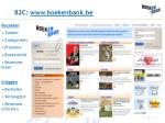 b2c www boekenbank be