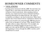 homeowner comments6