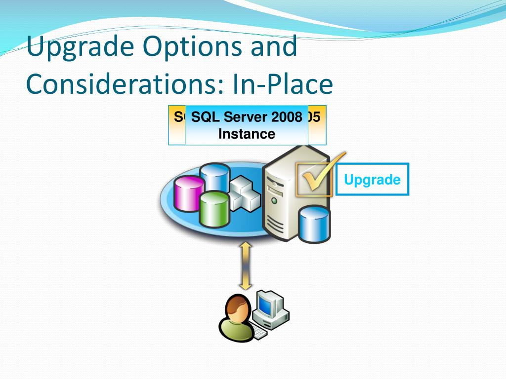 Upgrade Options and Considerations: In-Place