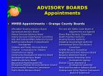advisory boards appointments1